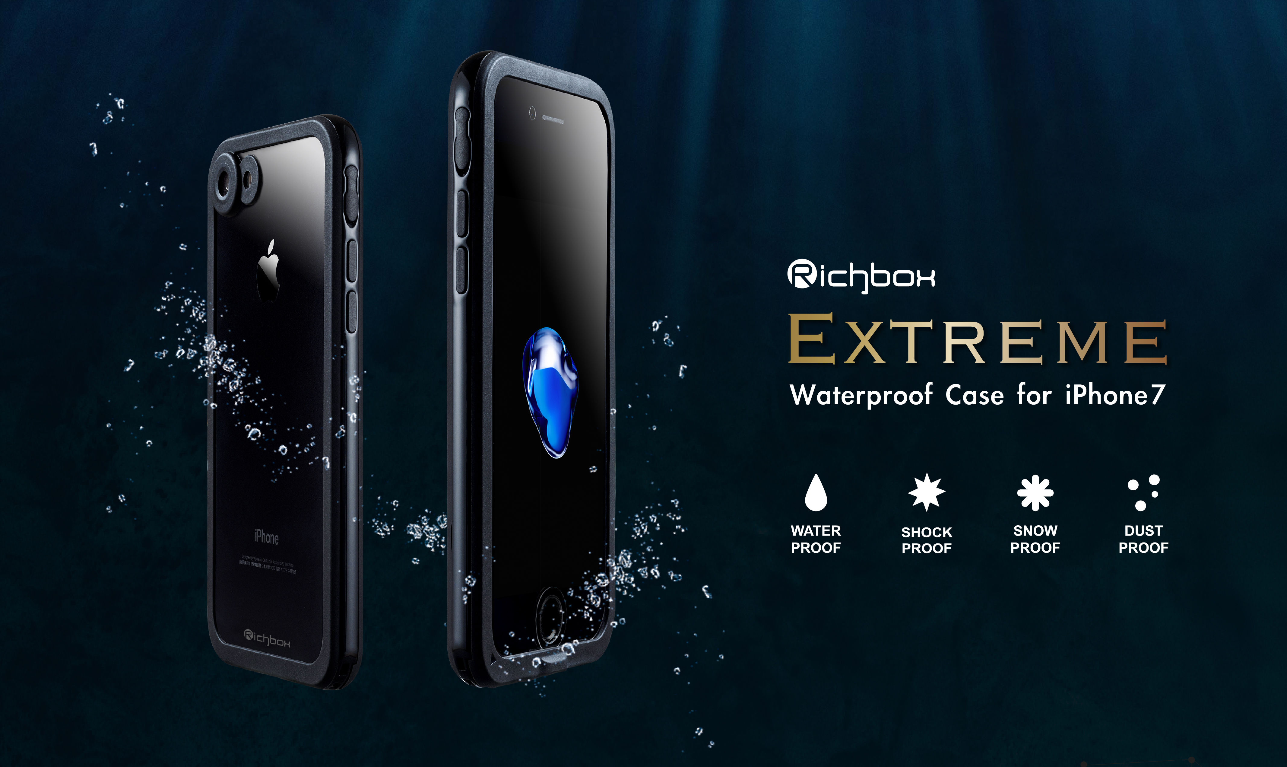 Extreme for iPhone 7 防水・耐衝撃ケース Richbox
