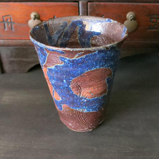 萩焼 限定ビアカップ