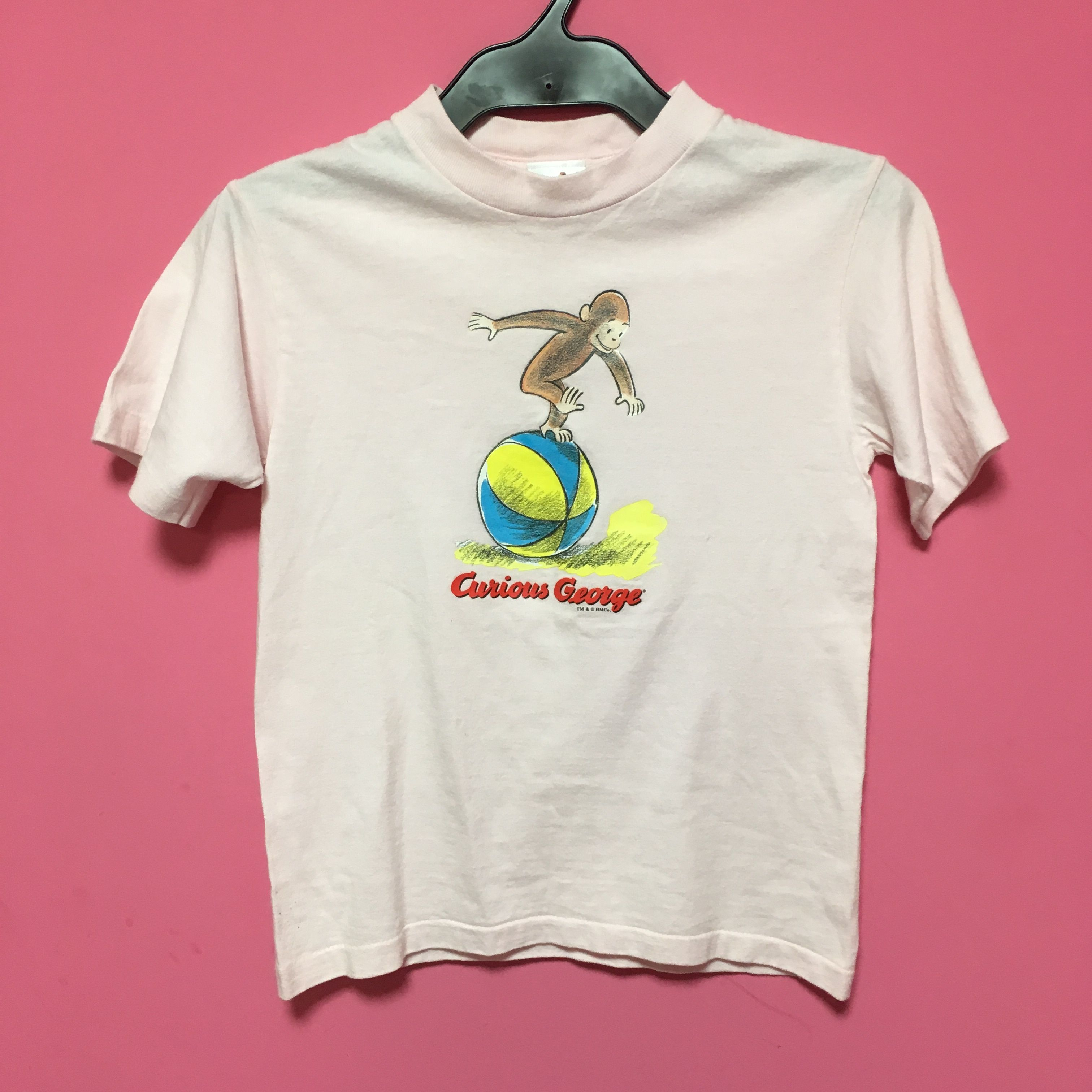 vintage おさるのジョージ Tシャツ キッズ Curious George