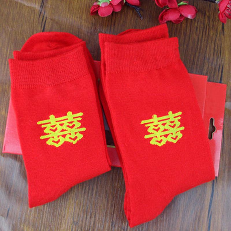 ダブルハピネス 靴下 赤 DOUBLE HAPPINESS SOCKS