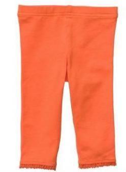 【Carter's】カーターズレギンスパンツ【4T】オレンジ