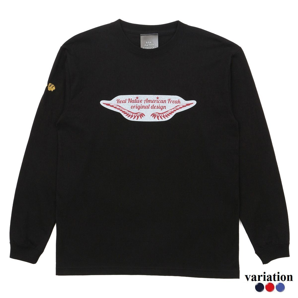 Feather logo Long sleeve