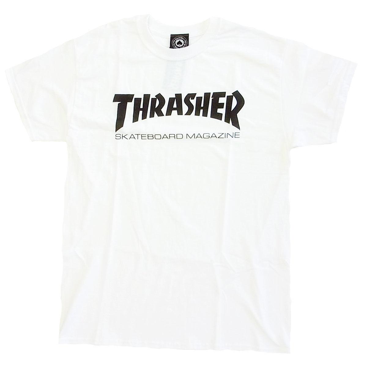 THRASHER SKATE MAG S/S TEE WHITE  スラッシャー Tシャツ