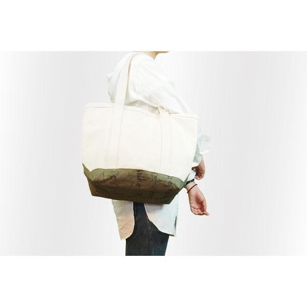RUBBER KILLER & FRIENDS : Cotton Canvas Tote Bag w/ UsedMilitary