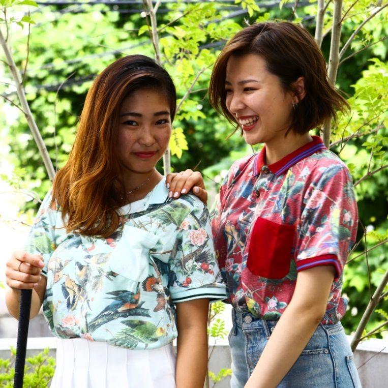 ゴルフウェア ラインスリーブカラー ポロTシャツ(5カラー)