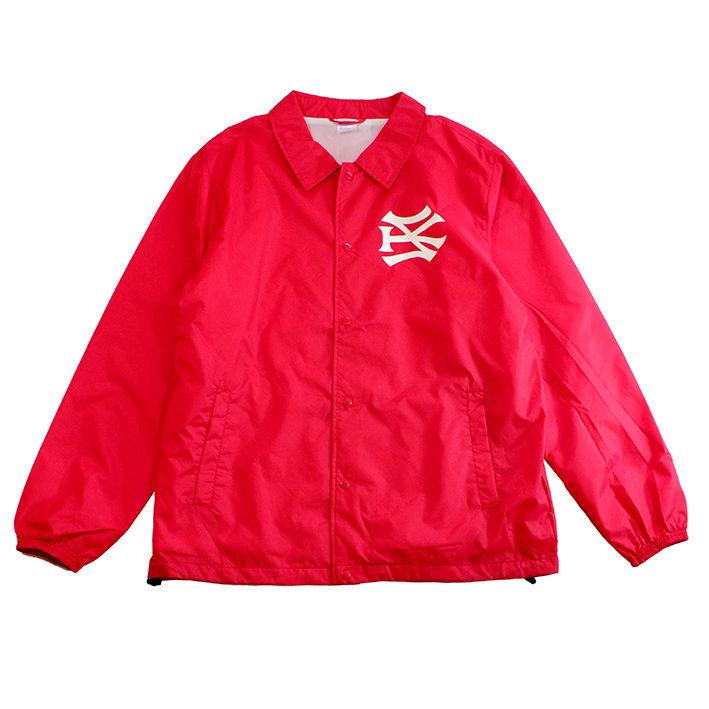 """【ラス1】SH*T KICKER """"SK51 LOGO"""" coach  jacket ( Red)"""