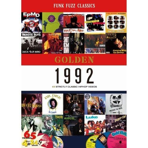 "GOLDEN ""1992"" classic hiphop videos"