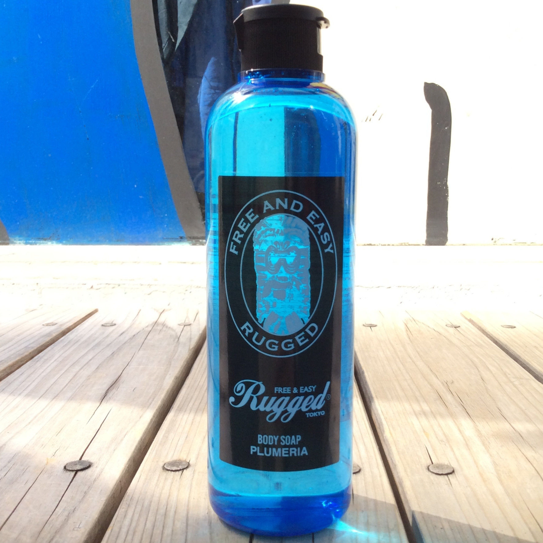 RUGGED BODY SOAP (plumeria)