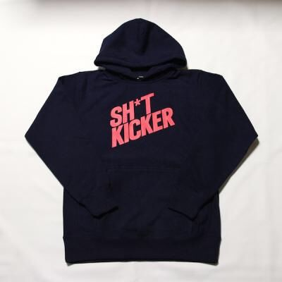 """【ラス1】SH*T KICKER """"Logo"""" sweat hoody"""