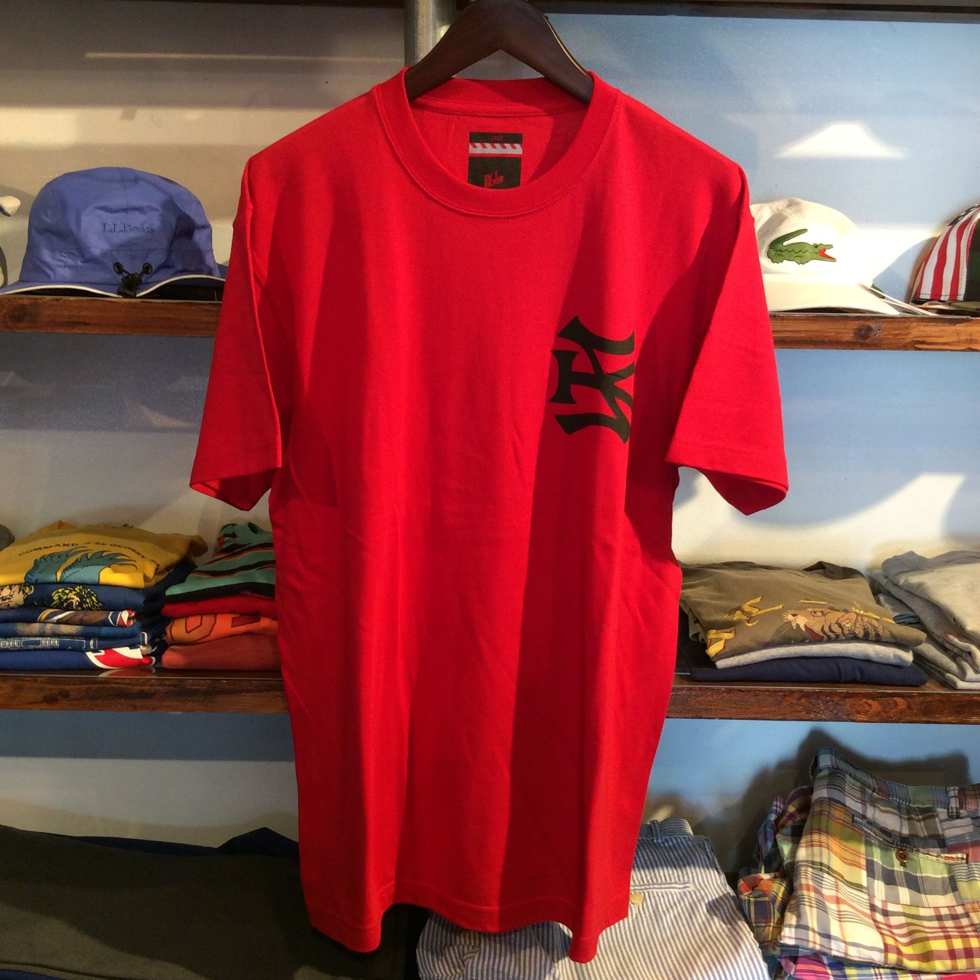 "【残り僅か】SH*T KICKER ""BRED""  tee (Red)"
