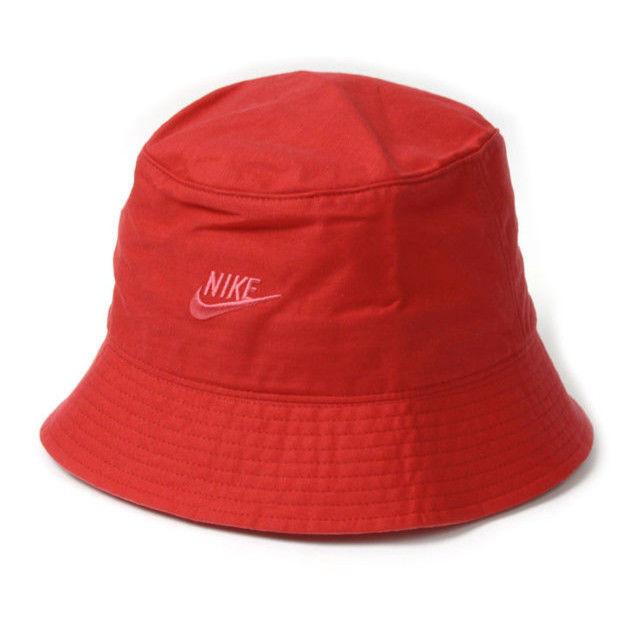 """【残り僅か】NIKE """"Futura bucket"""" hat (Red)"""