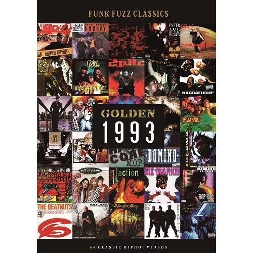 """【残り僅か】GOLDEN """"1993""""  classic hiphop videos"""