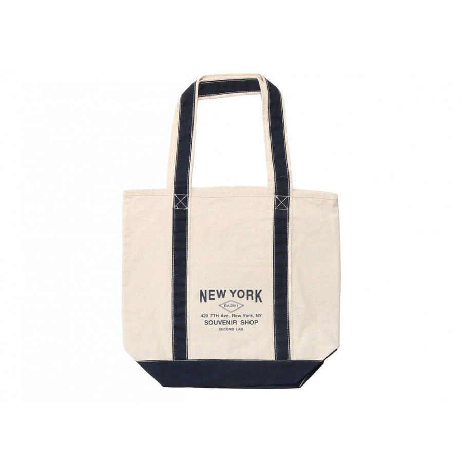 【残り僅か】SECOND LAB. Original tote bag (Navy)
