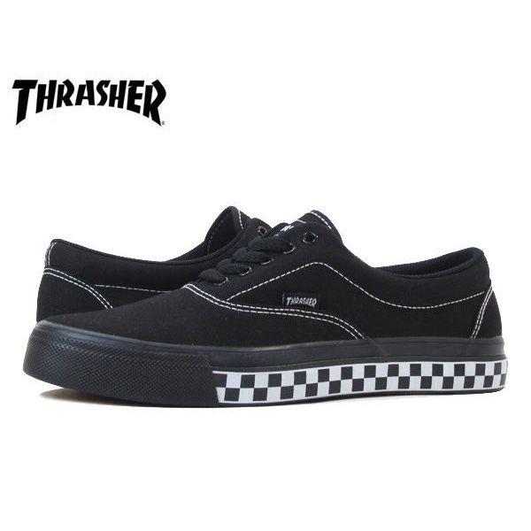 【残り僅か】THRASHER ''DECKER'' (black/white CHECKER)
