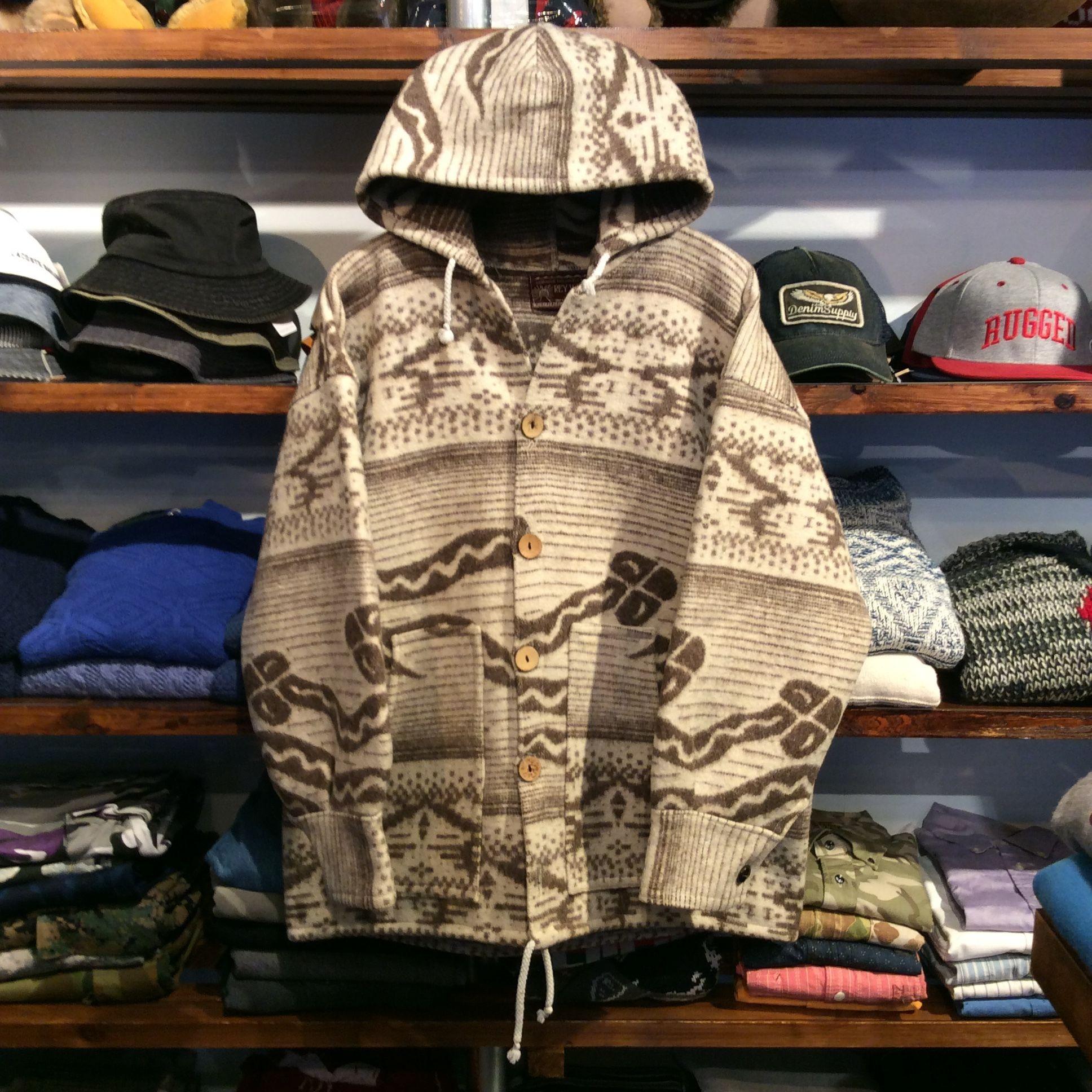 REY WEAR hand made wool jacket