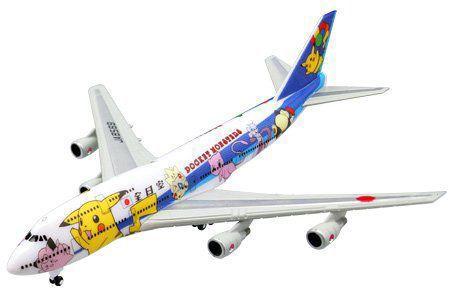 世界の翼   B747-4000 ANA ポケモンジェット1998