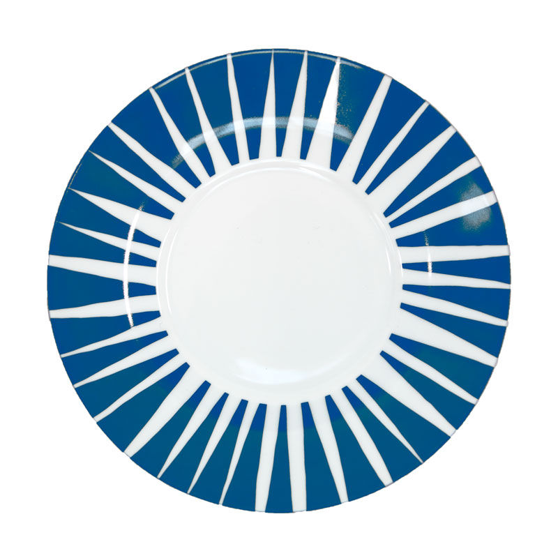 House of Rym_Saucer_Stripes never wear out /blue