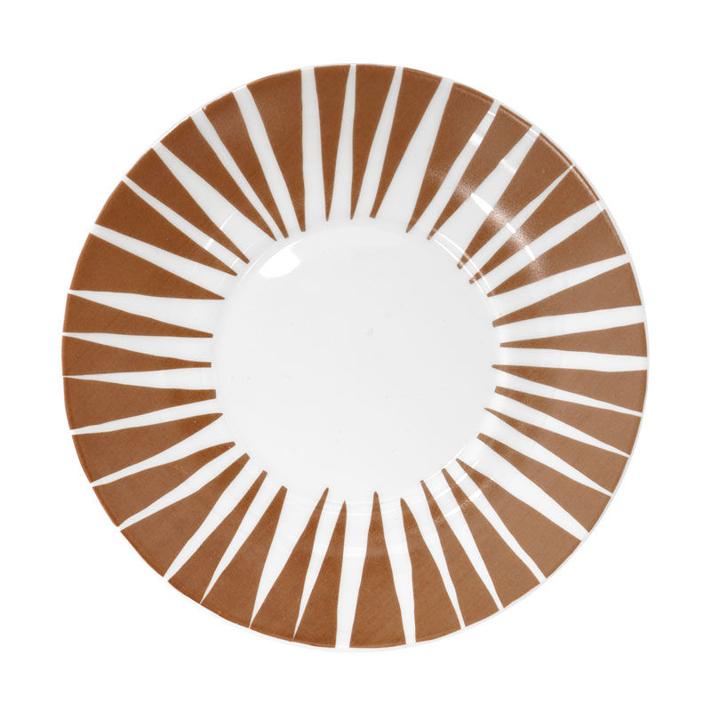 House of Rym_Saucer_Stripes never wear out /brown
