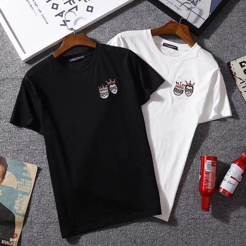 【Sakura STORE】ドルチェ&ガッバーナ  Tシャツ   カジュアル   半袖   トップス   ima- 0809