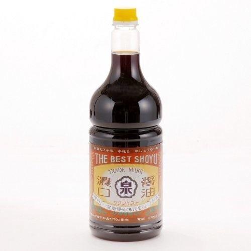 濃口醤油【ゴールド】(1.8Lペットボトルタイプ)