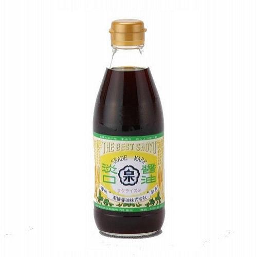 淡口醤油(360ml瓶タイプ)