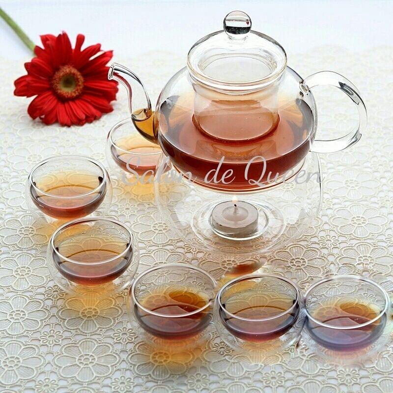 耐熱ガラス製 Teaセット