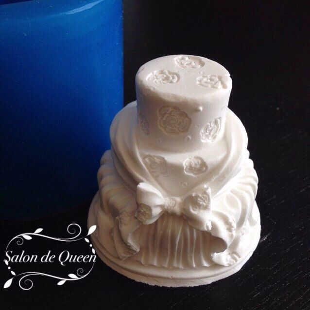 シリコンモールド 3D ウェディングケーキ