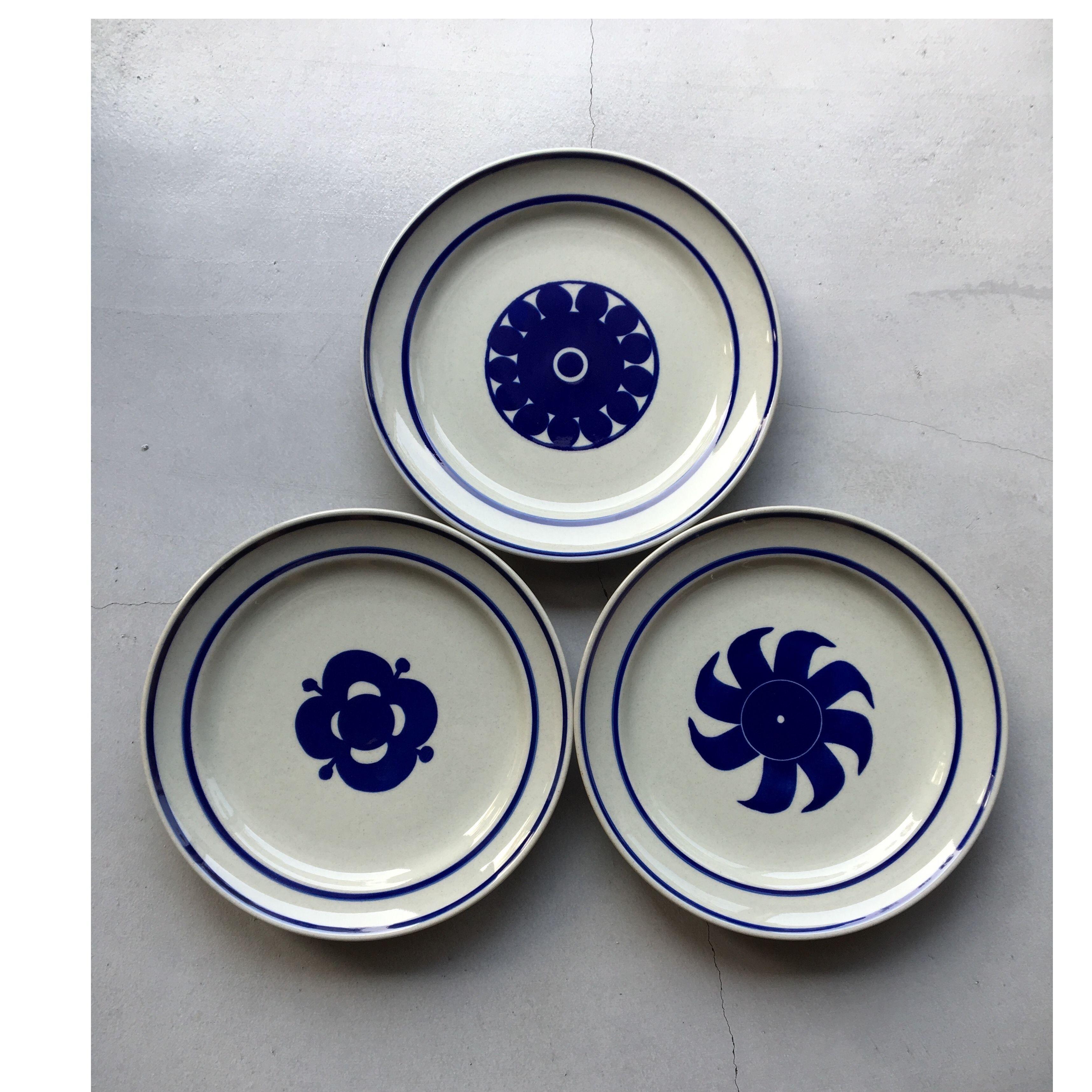 rund plate/Lisa Larson