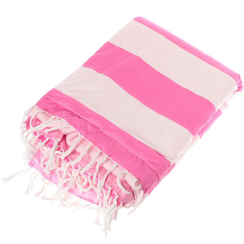 ビーチタオル ピンク
