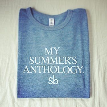 MY SUMMER'S ANTHOLOGY.