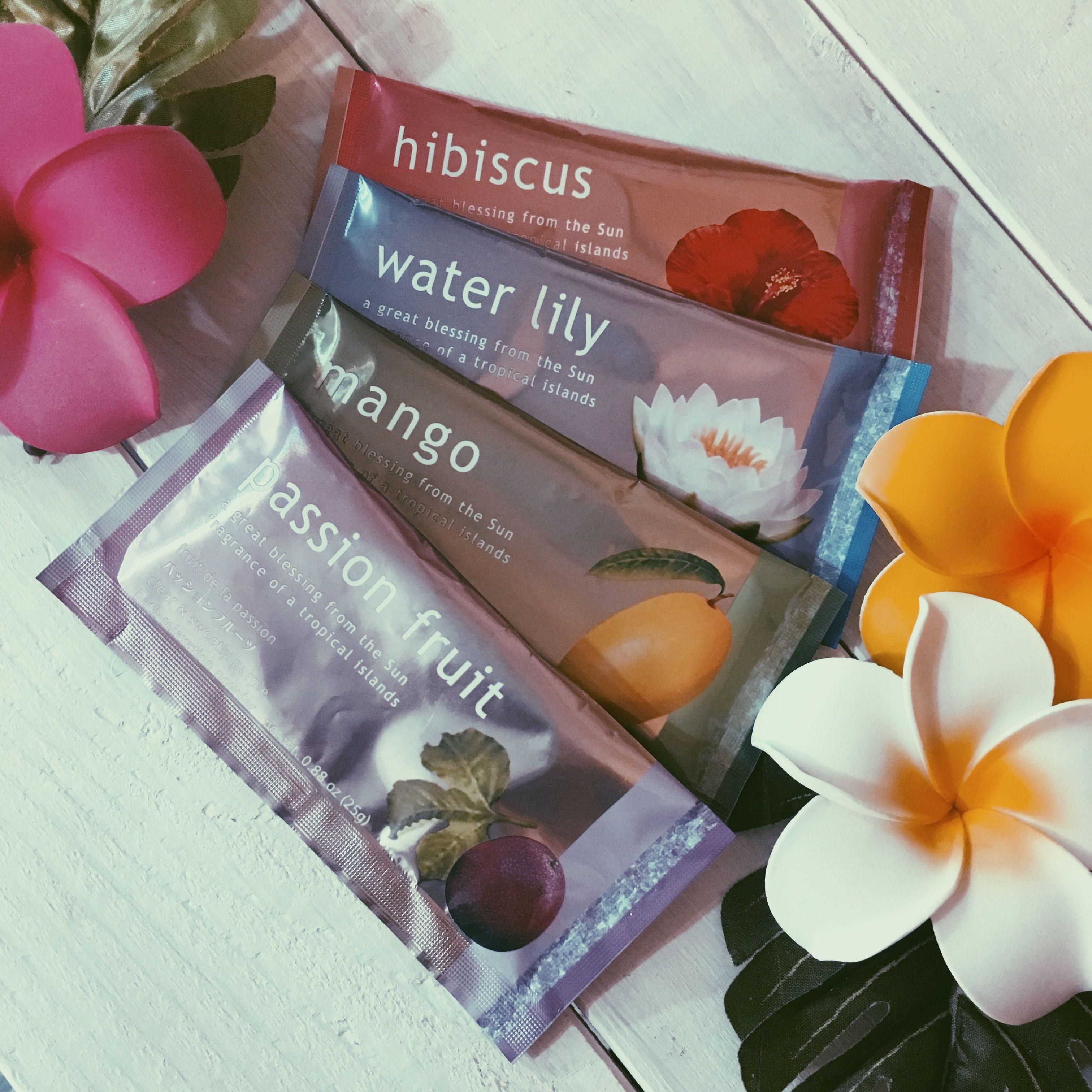 【Hula Hawaii】 太陽の恵み(入浴剤)