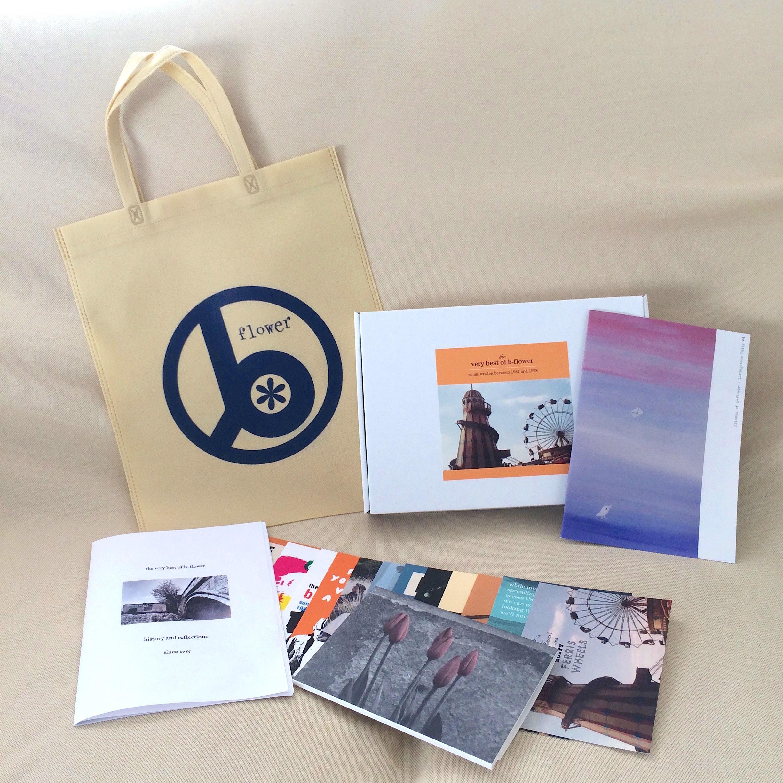b-flower ベスト発売記念グッズセット(CDなしグッズセット、BOX入り))