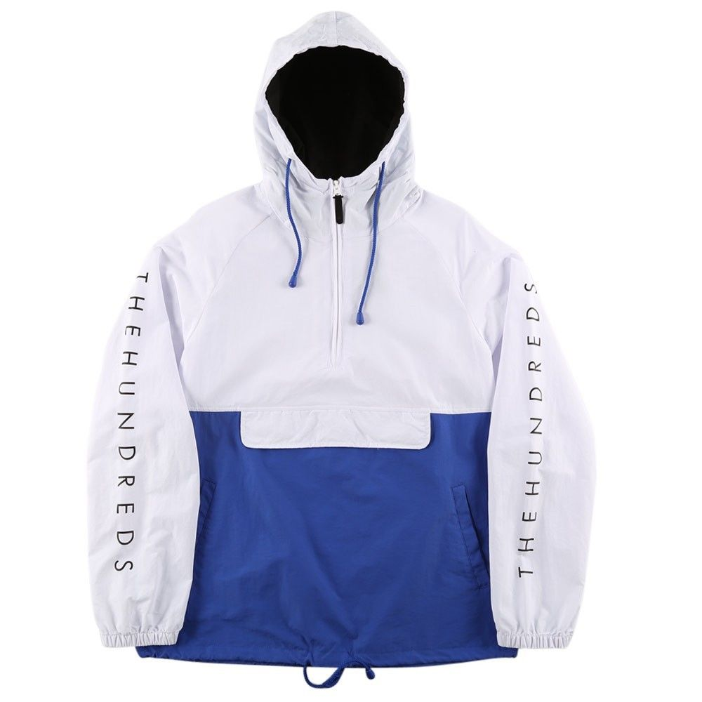 THE HUNDREDS DELL JACKET WHITE