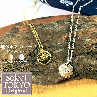 ◆ イーグルモチーフ ゴールド/シルバー ネックレス