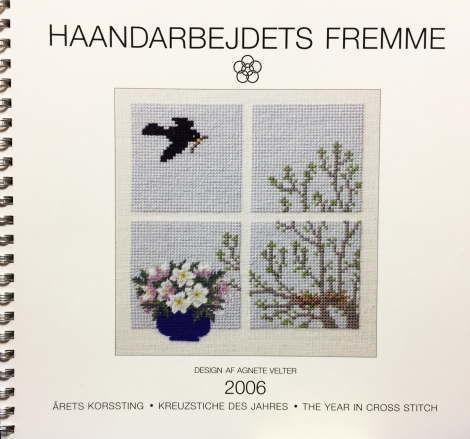 フレメ 2006 カレンダー AGNETE VELTER 図案 Haandarbejdets Fremme