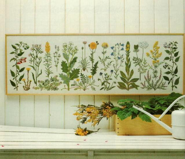 フレメ KYSTENS BLOMSTER 海岸の花 10B クロスステッチ Haandarbejdets Fremme キット 刺繍 デンマーク GB 30-5406