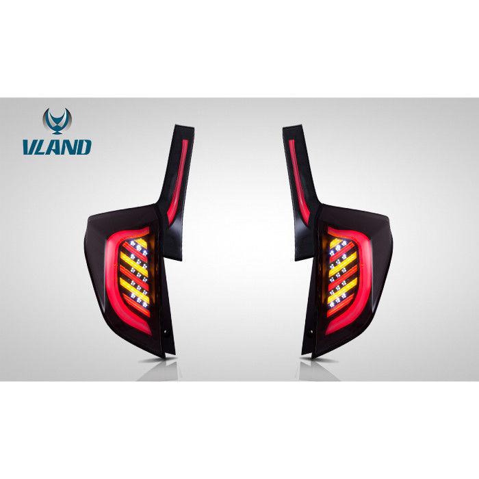 VLAND フィット カスタム GP GK FIT 3代目 LED テールランプ ハイブリッド ガソリン ファイバー ドレスアップ