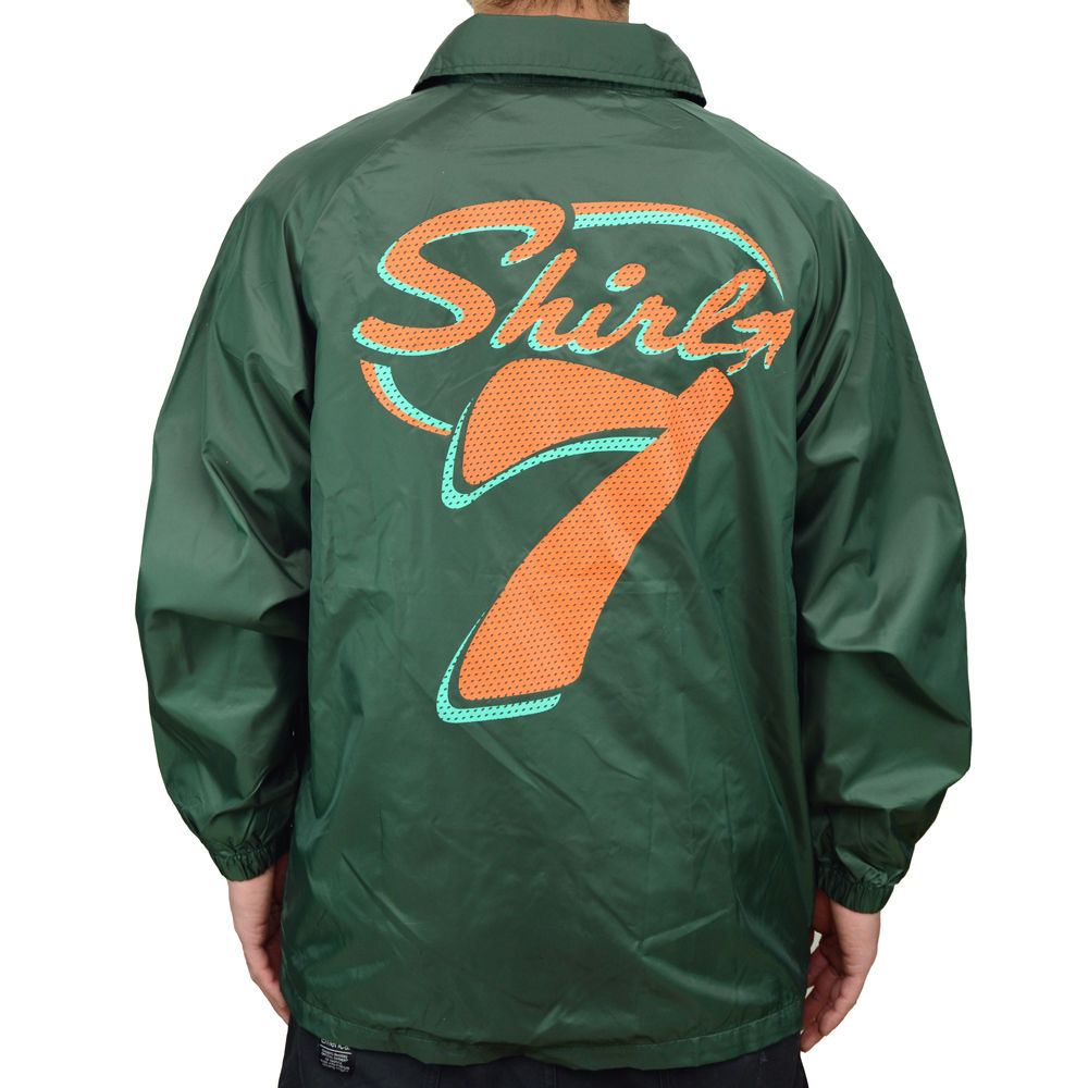 SHIRL-7 NYLON COACH JKT  (GREEN)(SH161101GRN)(数量限定)