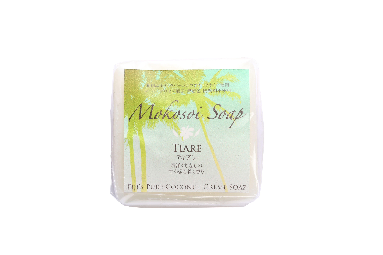 モコソイソープ 90g ティアレ 西洋くちなしの甘く落ち着く香り