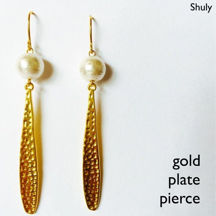 gold plate pierce