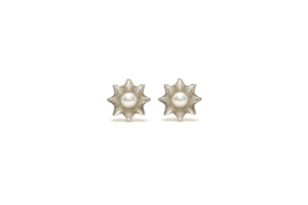 Star Pearl ピアス /silver925/