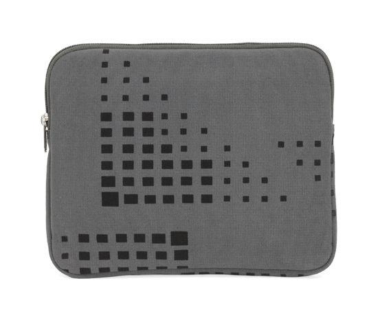 Kate Sheridan/ケイト・シェリダン - iPadケース (トライアングル・グリッド/グレー) 【セール】【ロンドン】【イギリス】【TOPSHOP】【apple】【アップル】【ハンドメイド】
