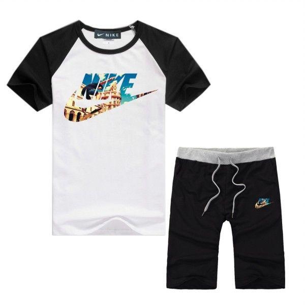夏定番!ナイキ半袖Tシャツ上下セットアップ  人気新品 送料無料