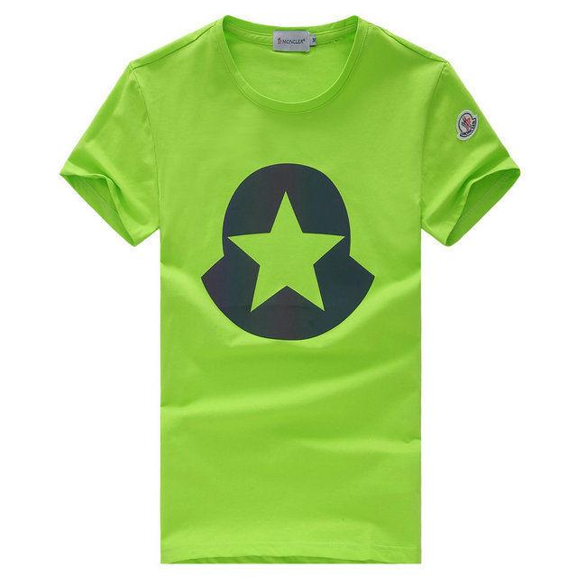 高品質★モンクレール星柄プリントTシャツ カットソー 半袖  男女兼用