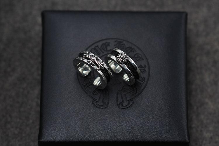 人気勧め美品 CHROME HEARTS クロムハーツ 指輪 シルバーリング カップル