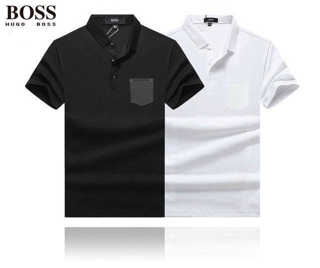 新品★ヒューゴボス HUGO BOSS 良い着心地ポロシャツ 半袖 スウェットポロシャツ メンズ用