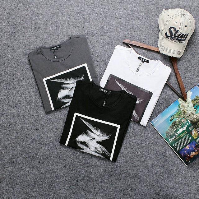 人気勧め美品★ドルチェ&ガッバーナ Dolce&Gabbana プリント半袖Tシャツ 男性用トップス