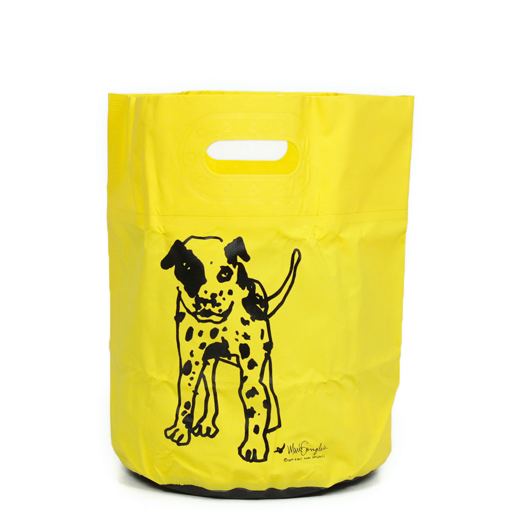 HIGHTIDE × MARK GONZALES  TARP BAG YELLOW 16?