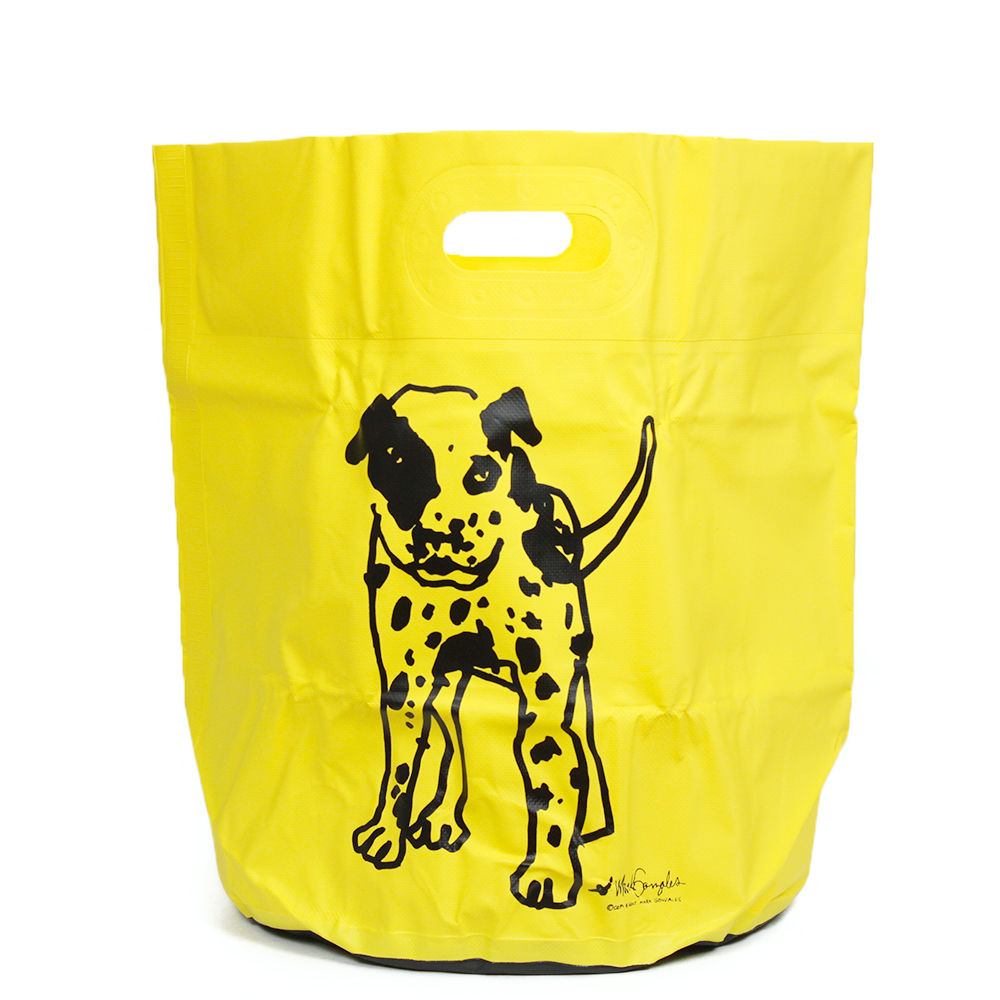 HIGHTIDE × MARK GONZALES  TARP BAG YELLOW 35?