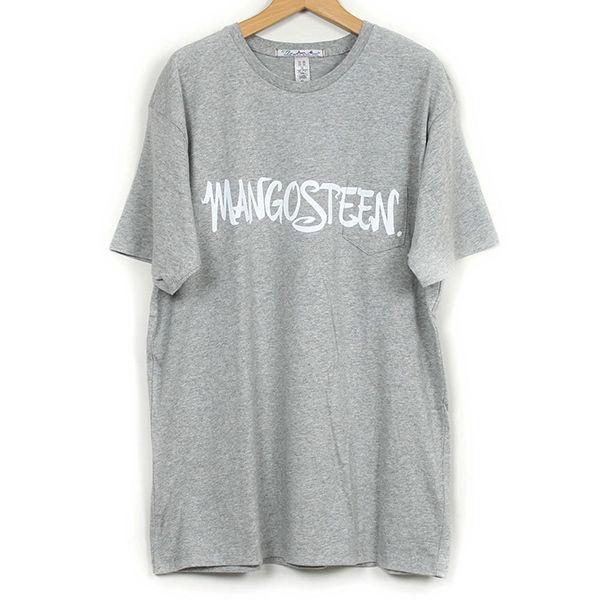 The Dawn B  MANGOSTEEN Tシャツ GREY